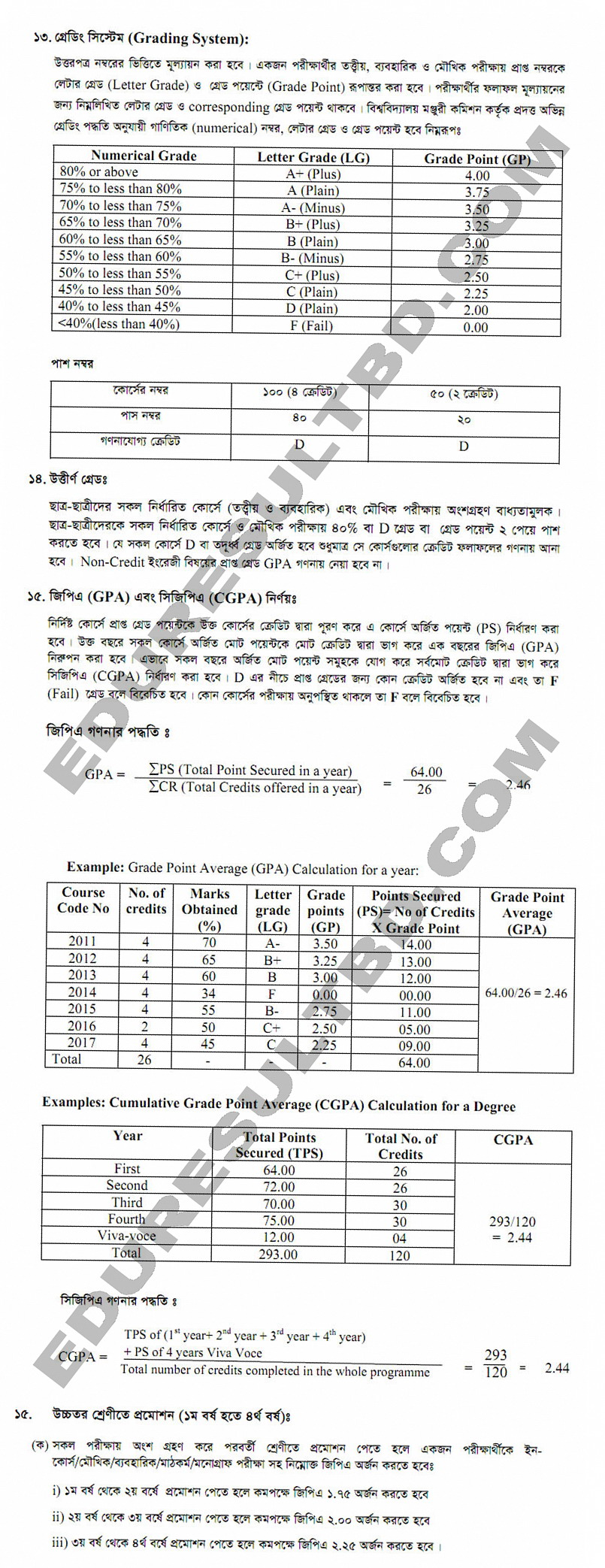 Download Grading System And Gpa Calculation Process